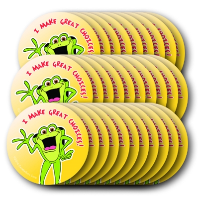 Kelso circle stickers 100 individual stickers