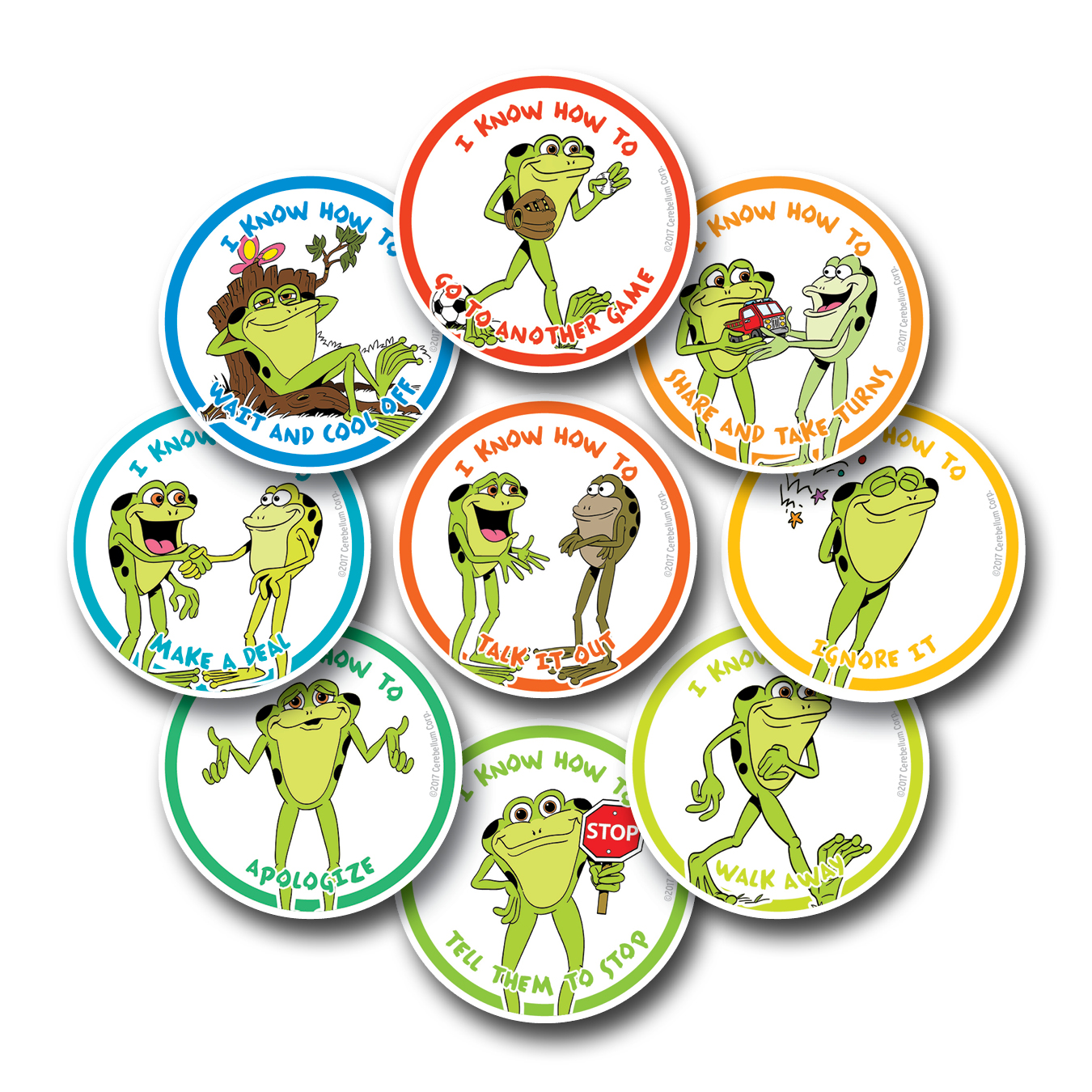 kelso's individual choice stickers