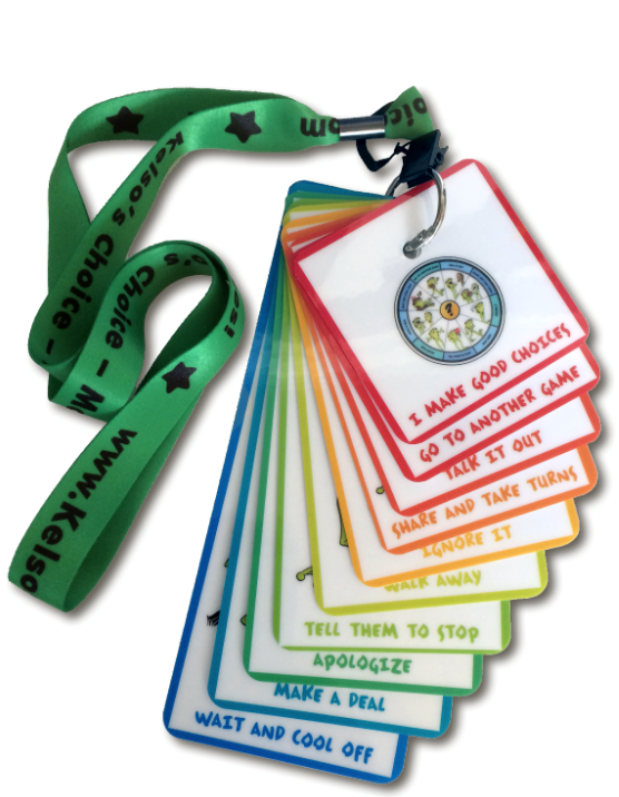 kelsos choice lanyard