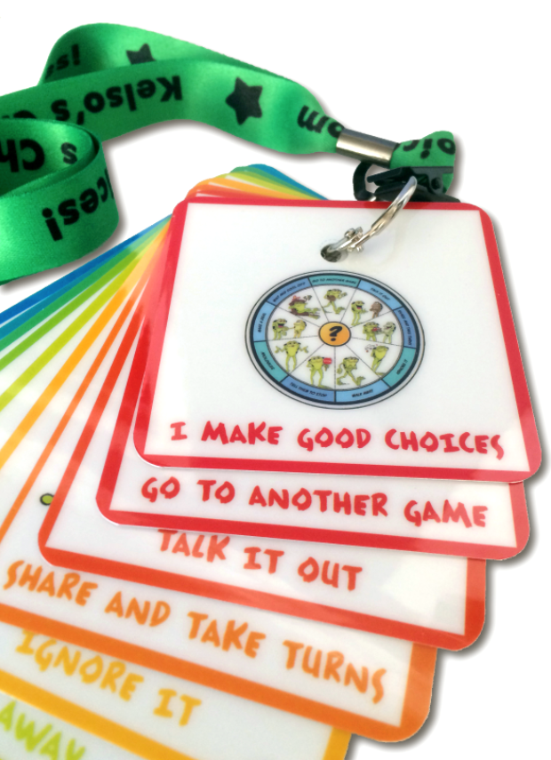Kelso's Choice Lanyard and Flipbook 10-pack